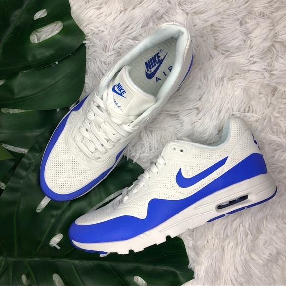 625e33c3b7 denmark white womens nike air max 1 ultra shoes 1d593 90944